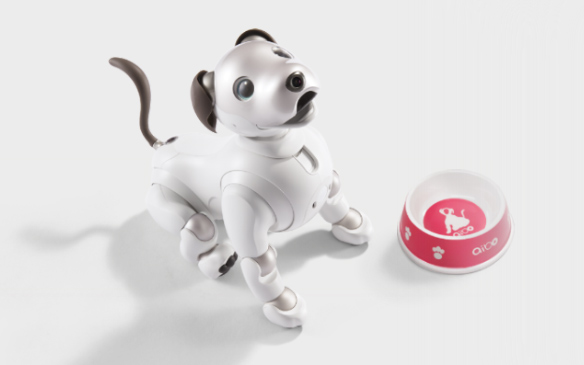 Get new tricks from the aibo store