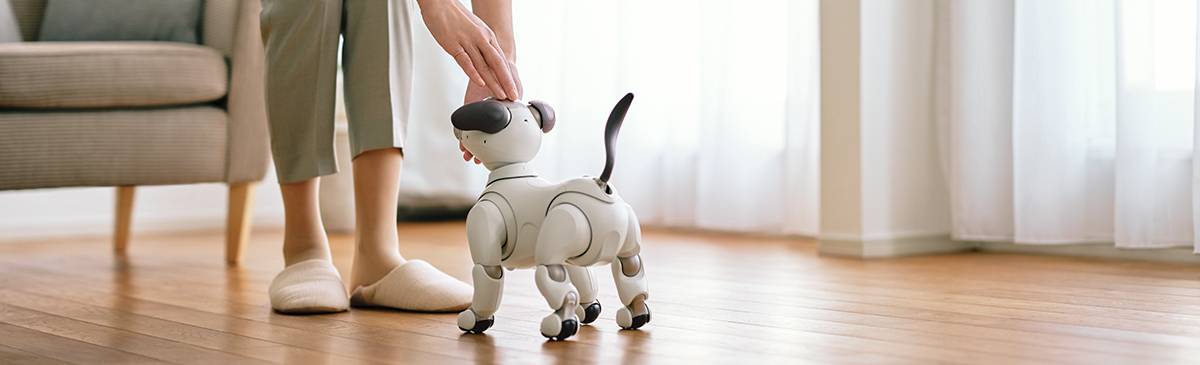Your approach forms aibo's personality traits and tricks
